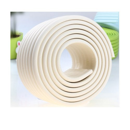 AUCH Extra Dense Furniture Table Wall Edge Protectors Foam Baby Safety Bumper Guard Protector, 2 Meters (6.5 Ft) Long 8 cm Wide