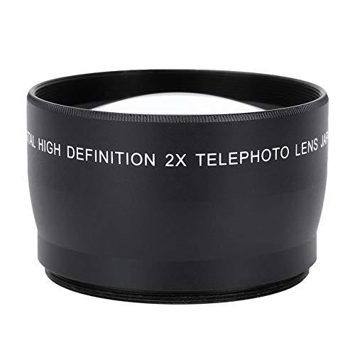 58MM 2Xテレコンバーター ユニバーサル望遠レンズ カメラアクセサリー