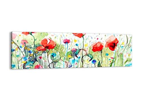 ARTTOR Stampe su Tela - Quadri Moderni Soggiorno e per Camera da Letto - Home Decor - Immagine in più Dimensioni - Various Graphic Themes - AB160x50-3076
