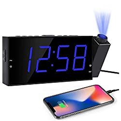 """OnLyee Projection Digital Alarm Clock 