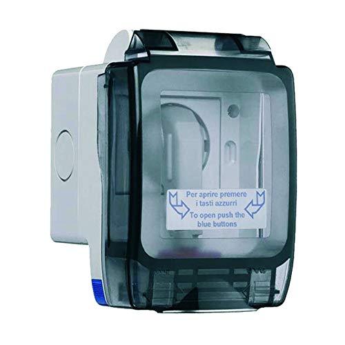 Contenitore Ave Seal Ip56 Sistema 45 2 Moduli 45St02K