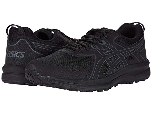 ASICS Men's Trail Scout, Black/Grey, 10 4E - Extra Wide