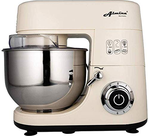 1500 W keukenmachine kneedmachine deegmachine roermachine 6 liter hamur Makinesi Krem | Z1829