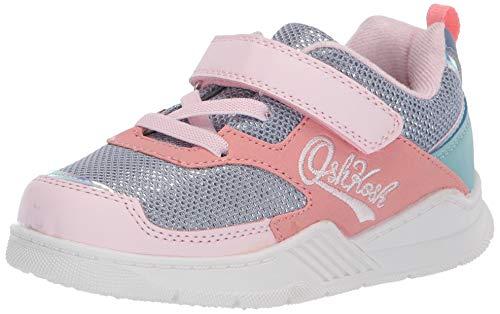 OshKosh B'Gosh Girls Chears Athletic Sneaker, Multi, 8 Toddler