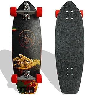 TXIN - Surfskate Rasta Lion 31 Surf Skate Trucks T12...