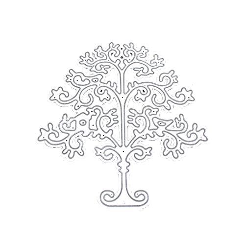 Metallschneideisen Handgefertigte Schneiden Stencils Diy Tree Design Scrapbooking Schneideise Papier Karten Pop-up