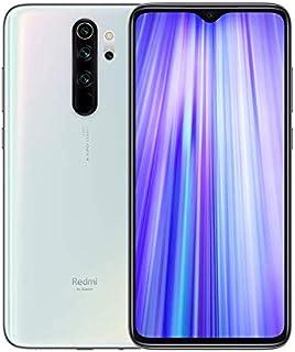 Redmi Note 8 Pro– Smartphone con Pantalla 653 FullHD+ (Cuatro cámaras de 64 + 8 + 2 + 2 MP Frontal 20 MP 4500 mAh Jack de 35 mm MTK Helio G90T Octa-Core 6 + 128 GB) Blanco [Versión española]