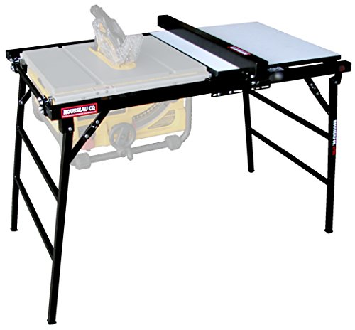 Best Portable Table Saw Stand Reviews - Rousseau 2780 Table Saw Stand for Smaller Portable Saws