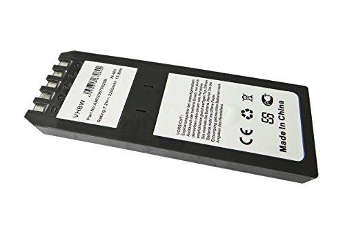 vhbw Batería compatible con Fluke DSP2000 osciloscopio, instrumento de medición (2200mAh 7,2V NiMH)