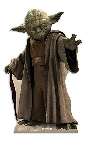 Star Wars lebensgroßer Pappaufsteller Yoda