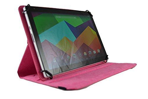 Funda Giratoria para Tablet LG Gpad V700 10.1' - Rosa Fucsia