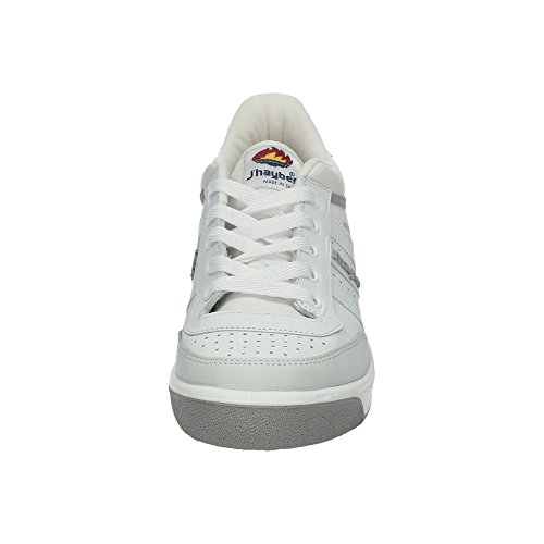 J-Hayber New Olimpo - Zapatillas de running para hombre, color blanco, talla 44
