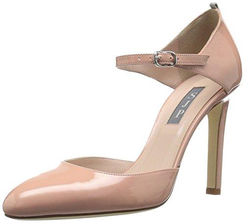 SJP by Sarah Jessica Parker Damen Campbell Riemchenpumps, Pink (Bare Patent), 38.5 EU