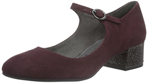 Tamaris Damen 24316 Pumps, Rot (Bordeaux 549), 39 EU