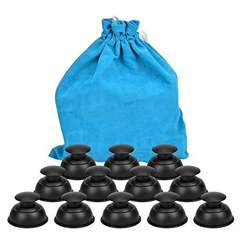 Ventosas Cupping Masaje Facial Magnético Therapy Set - Succión Kit De Ventosas Corporales Masaje Relajación Muscular Cara Acupuntura, Ventosas Copas De Masaje Cristal Anticelulitica