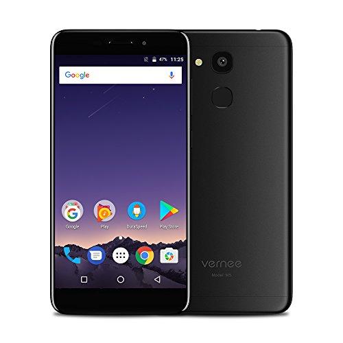 Vernee M5 4G FDD-LTE Smartphone 5.2 Zoll HD, Android 7.0 [4GB RAM+64GB ROM] Octa-Core, 13.0MP + 8.0MP Kamera 3300mAh Akku Fingerabdruckscanner, Band 20 Dual SIM Ohne Vertrag Handy