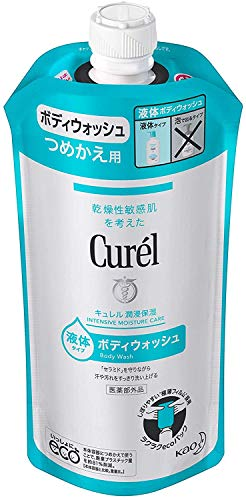 Japanese Skin Care <Deals two pack> 360ml entering × 2 pieces Refill Curel Body Wash