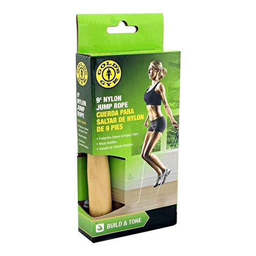 commercial Gold's Gym Nylon Rope 9′ golds gym rope