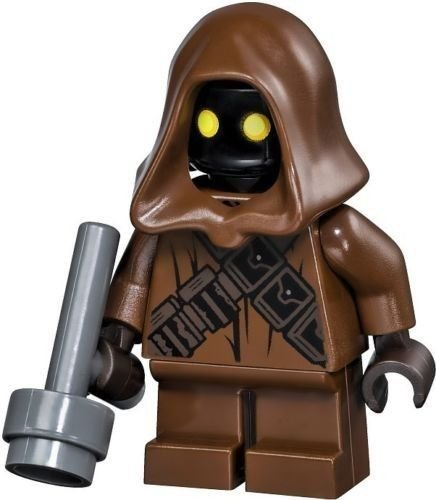 LEGO Star Wars Jawa minifigure with Gray gun from Sandcrawler (75059)