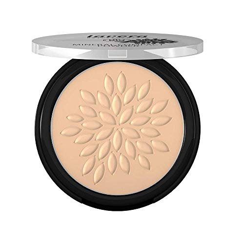 lavera Maquillaje polvo compacto mineral -Ivory 01- vegano - cosméticos naturales 100% certificados - make up- 7 gr