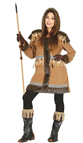 Guirca- Disfraz adulta esquimal, Talla 38-40 (88162.0) , color/modelo surtido