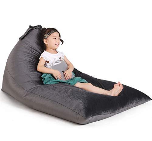 Stuffed Animal Storage Bean Bag Chair for Kids and...