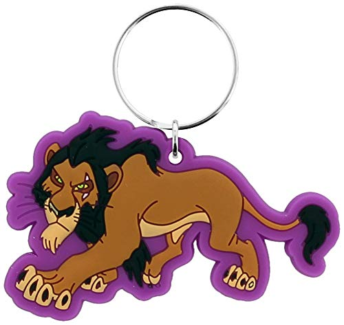 Pyramid International The Lion King Rubber Keychain Scar 6 cm Portachiavi