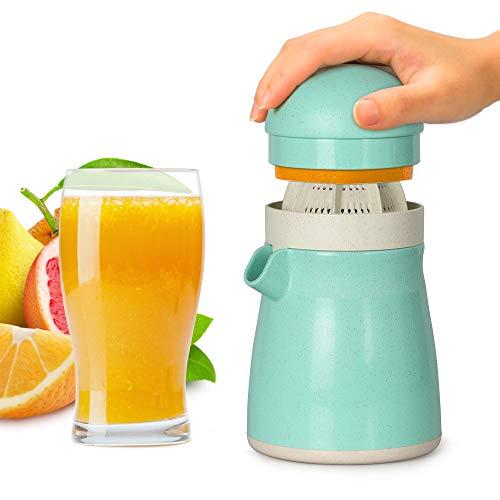 Funria m-312 - Exprimidor manual de limón, exprimidor de cítricos, naranja, sin BPA, apto para lavavajillas
