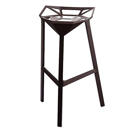 T-T-H Alle aluminium metalen barkruk creatieve lounge stoel thuis hoge kruk