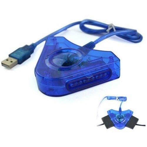 Adaptador USB para conectar Mando PS1 PS2 PSX PSONE a PC PS3