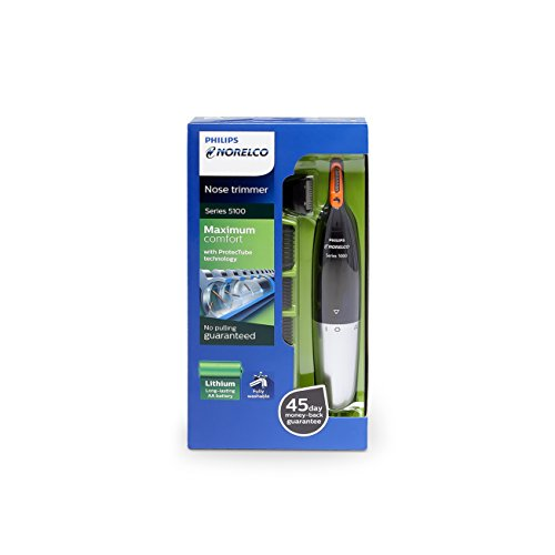 Philips Norelco Nose Trimmer Series 5100, Nt5175 (Packaging May Vary)-Multicolor