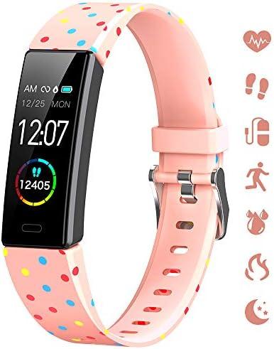 K berho Slim Fitness Tracker for Kids Women Men Heart Rate Monitor IP68 Waterproof Activity product image