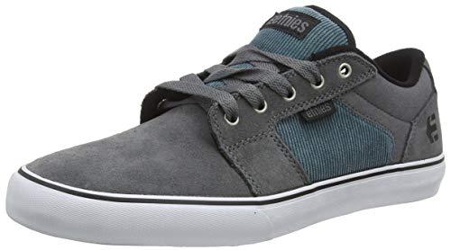 Etnies Herren Barge Ls Skateboardschuhe, Grau (Grey/Blue-094 094), 43 EU