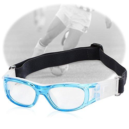 Kinder Basketball Fußball Sportbrillen Schutzbrillen Pc-objektiv Schutzbrille Blau