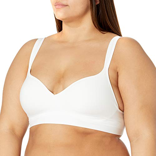 Bali Women's Comfort Revolution Wire Free Bra DF3463, White, 42B