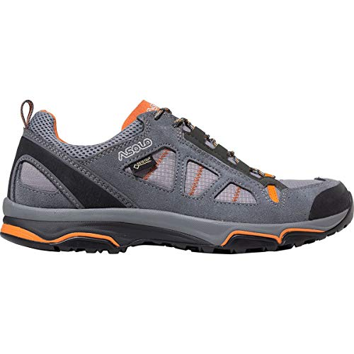 Asolo Women's Megaton GV Hiking Shoe Grey/Stone/Chalk 10