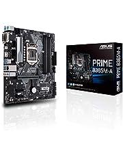 ASUS Prime B365M-A - Placa Base mATX Intel de 8a y 9a Gen. LGA1151 con un Conector Aura Sync RGB, DDR4 2666 MHz, Soporte M.2, HDMI, Memoria Intel Optane y SATA 6 Gbps