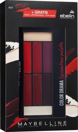 Maybelline New York Lipstick Colour Drama Lip Contour Palette Crimson Vixen...
