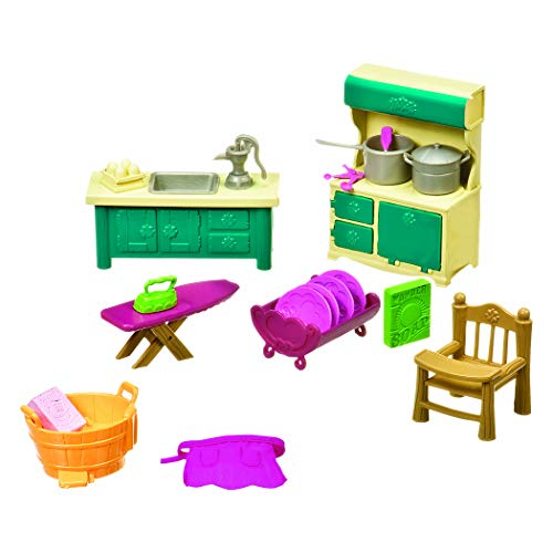 Li'l Woodzeez Kitchenette & Housekeeping Set
