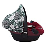 JANABEBE Verdeck passend für Maxi Cosi Pebble Bebe Confort (Zebra)