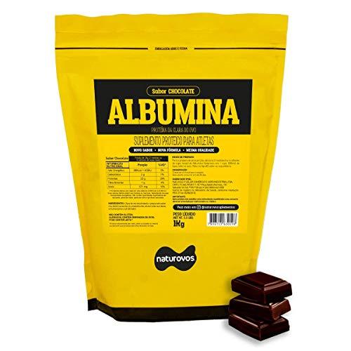 Albumina Chocolate 1Kg - Naturovos, Naturovos
