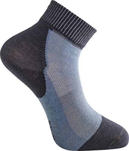 Woolpower Skilled Liner Short Socks Dark Navy/Nordic Blue Schuhgröße EU 40-44 2021 Socken