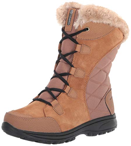 Columbia Women's Ice Maiden II Snow Boot, Elk/Black, 8