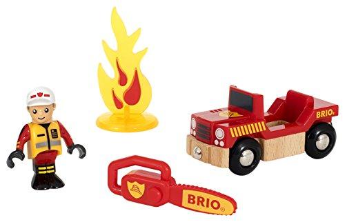 BRIO Bahn 33876 - Spielpäckchen Feuerwehr