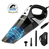 Car Vacuum, LOZAYI Car Vacuum Cleaner High Power 5000Pa Strong Suction,DC 12V Wet/Dry Portable Handheld Auto Vacuum Cleaner with 16.4FT(5M) Power Cord, HEPA Filter, Carry Bag for Car Use Only