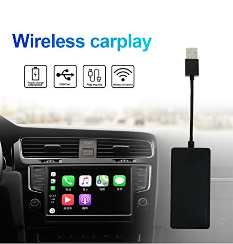 JOYX Carplay Dongle Wireless for car with Android Car Radio | apk Installed on car get Screen Carplay | Support for iOS Phone/Android Systems USB Connector