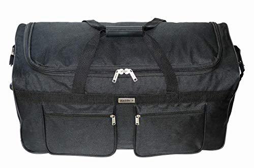 Super Jumbo XXL Extra Large Travel Luggage Wheeled Holdall Suitcase Trolley Duffel Bag (19' - L48XH28XW28CM)