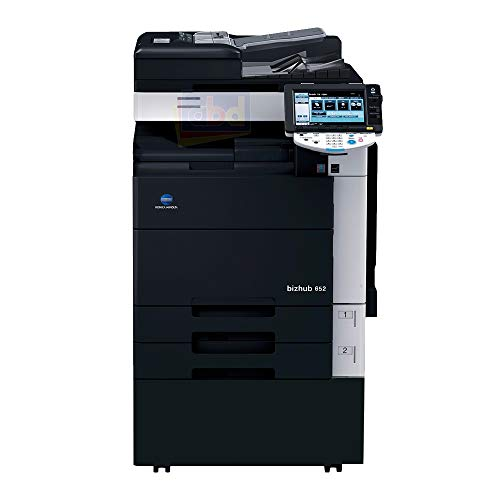 Buy Discount Konica Minolta Bizhub 652 Monochrome Laser Multi-Function Copier - 65ppm, Copy, Print, ...