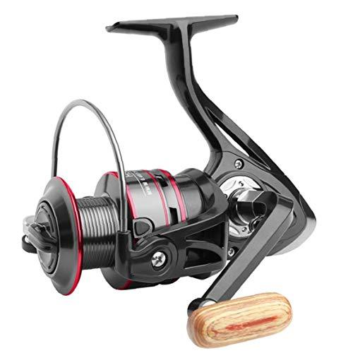 MaylFre Pc 1 De Giro del Carrete De Pesca Profesional Trole Carrete Spinning Smooth Fish Polo Carrete De La Pesca De Los Trastos
