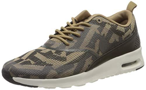Nike Air MAX Thea Kjcrd Wmns 718646-200, Zapatillas Mujer, Marrón (Brown 718646/200), 37.5 EU